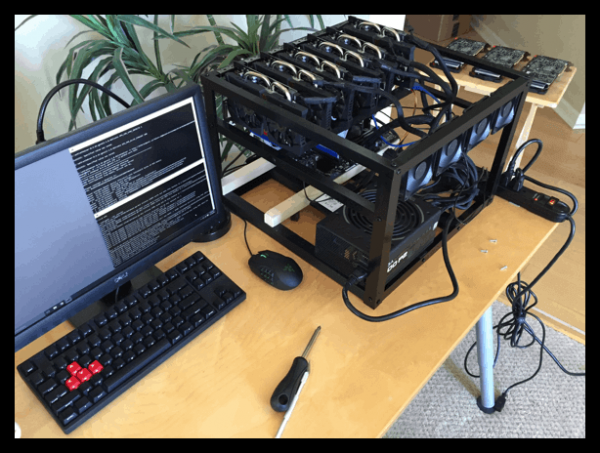 تعمیرات دستگاه ریگ ماینینگ